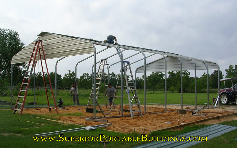 American Steel Carports Assembly