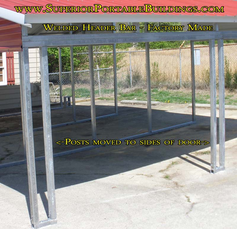 Carport Colors Sizes And Information