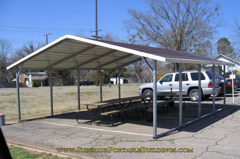 A Frame Carport. BC-1