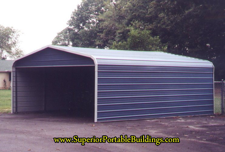3 sided carport