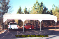 Side entry carport