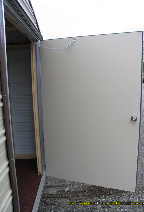 Portable Building Doors : Compare storage buildings