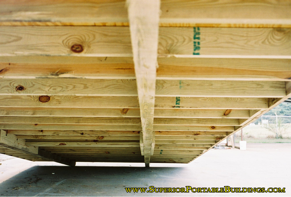 A Portable Deck On Skids : Compare storage buildings