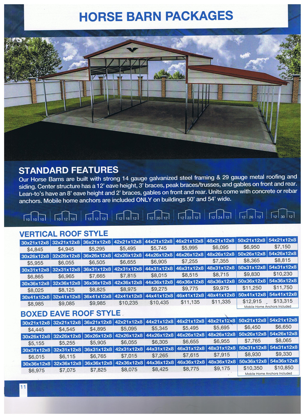 Superior's Buildings and Carports Brochures and Flyers. 1 ...