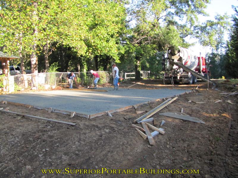 Concrete Building Slab Project 15