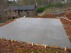 North georgia 39 s concrete and grading contractors for Pouring your own concrete driveway