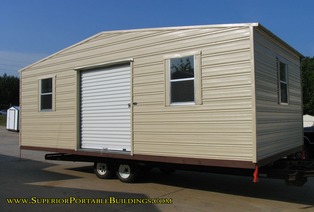 Superior 39 s ga portable buildings 770 943 2265 for 12x24 garage plans
