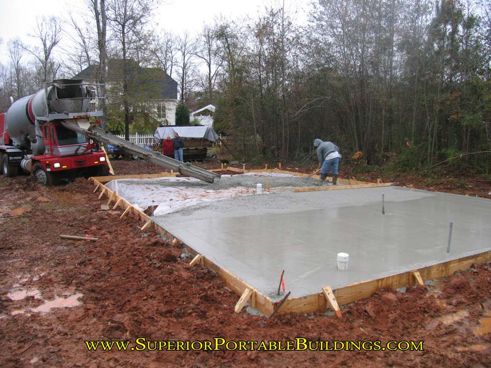 How To Make A Concrete Slab And Level Your Building Area