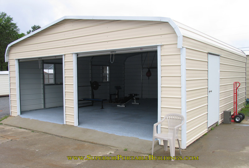 Metal garages california steel in