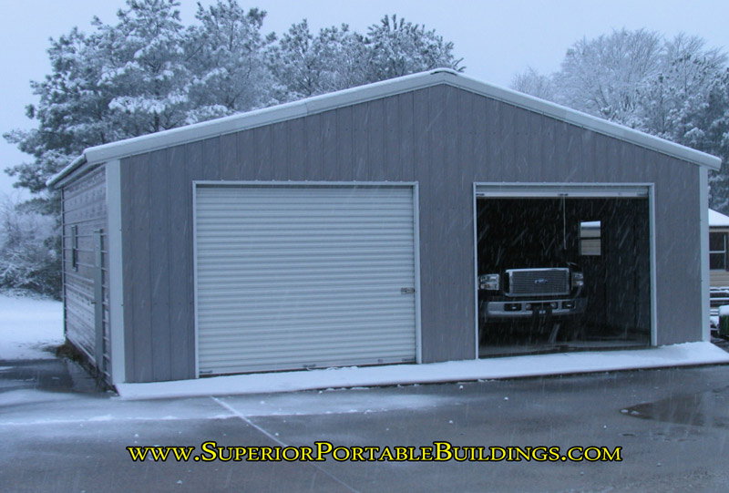 Portable Garages For Winter : New york steel and metal garages value with strength