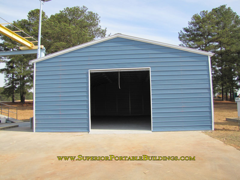 Texas metal garages lone star for 30x60 garage