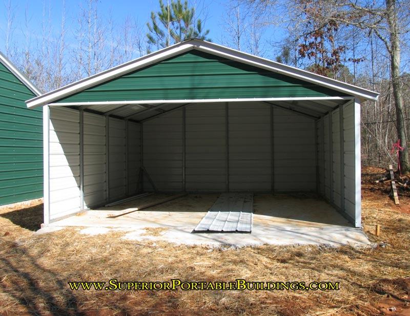 Vertical Roof Steel Carport Vc 7