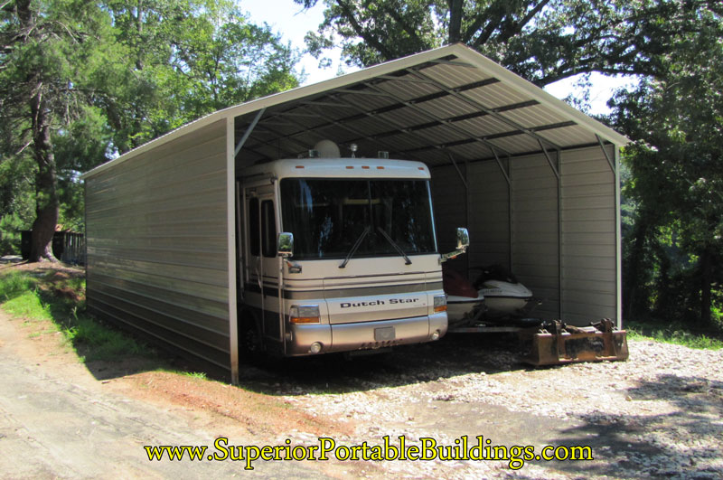 Metal Carports For Campers : Luxury portable rv carports pixelmari