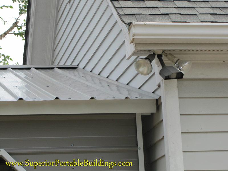 Vertical Roof Steel Carport Vc 12