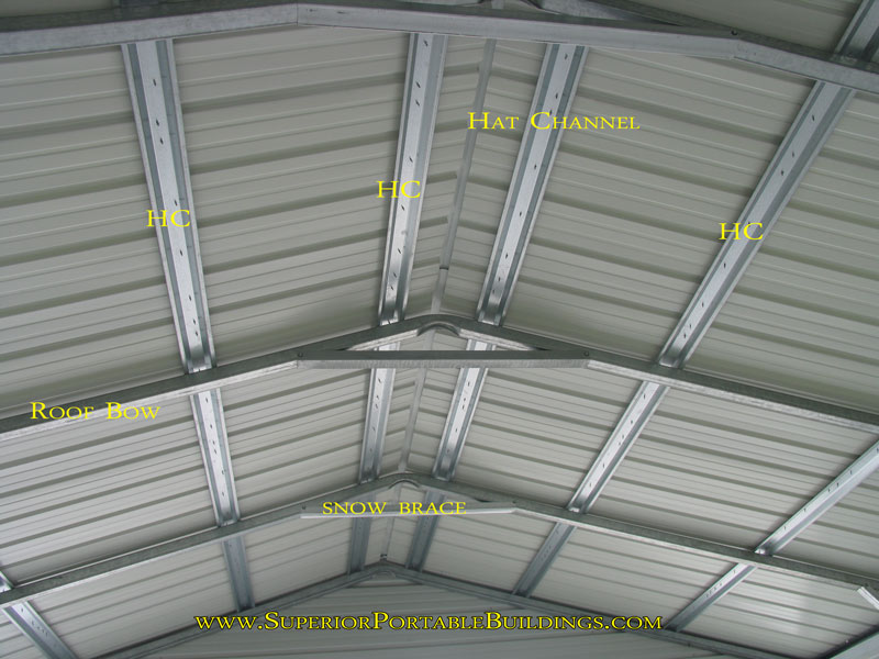 Vertical Roof Metal Carport : The superior steel carport