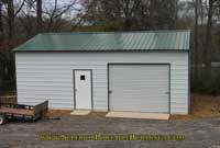 18 x 25 x 9 Side Entry Garage