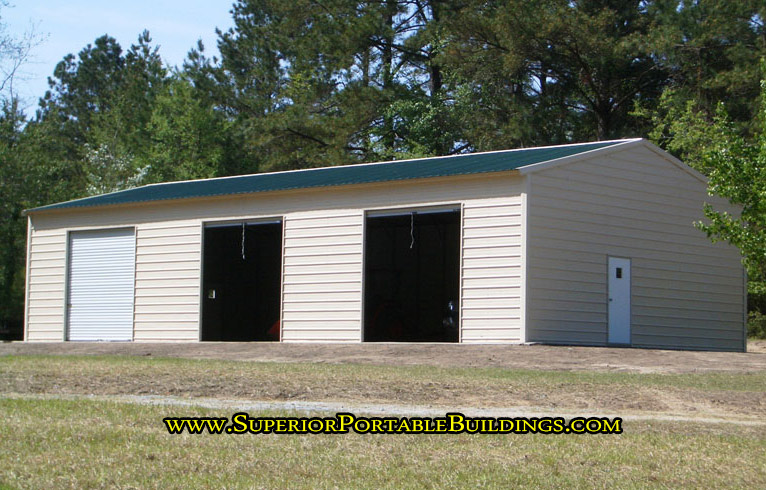 30 x 60 steel car garage vg 13 866 943 2264 for Garage gdn auto