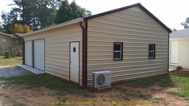 Steel garage 19 1 866 943 2264 for Kit garage 24x40