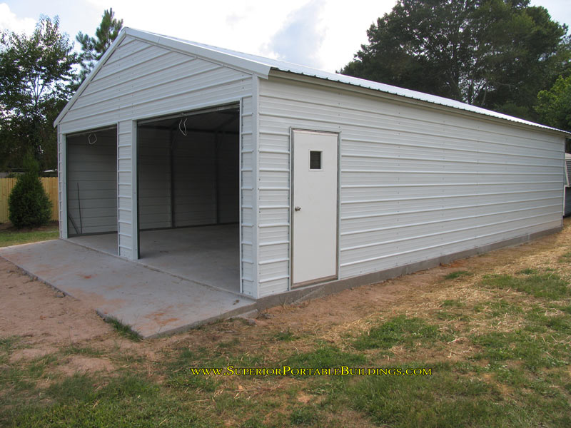 Steel garage 6 866 943 2264 for 24x40 garage