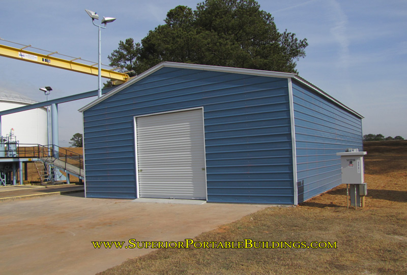30 x 50 x 12 steel pipeline garage
