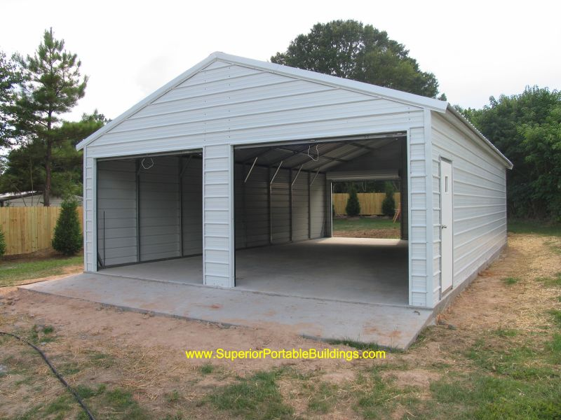 Portable Aluminum Carports Off Side Of House : Featured garage