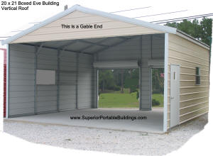 S b c metal garages 1 866 943 2264 for Rv garage kits for sale
