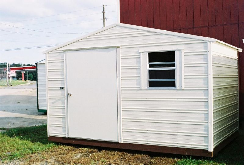 Portable Building Doors : Georgia metal storage buildings