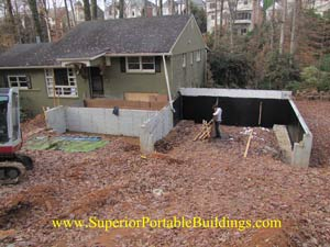 Ga concrete contractors 770 943 2265 for Steep driveway construction
