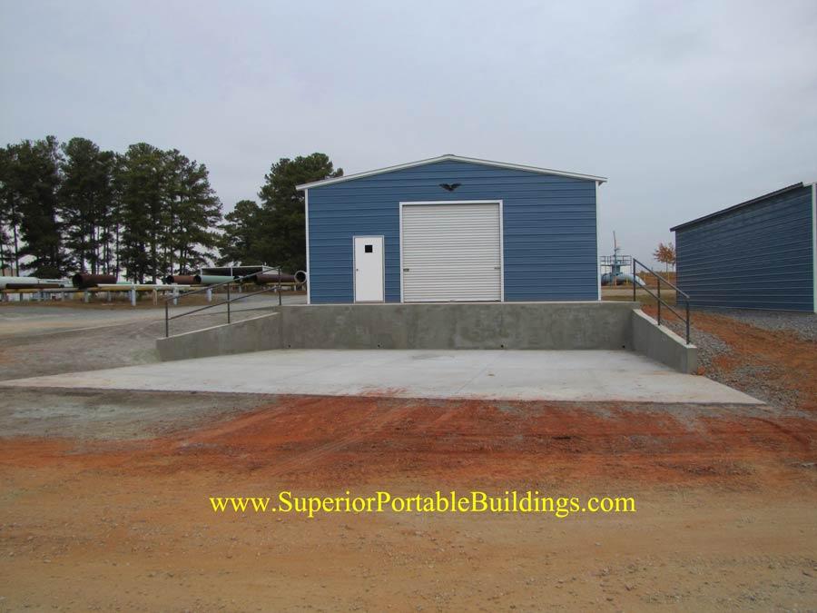 Georgia Concrete Loading Dock