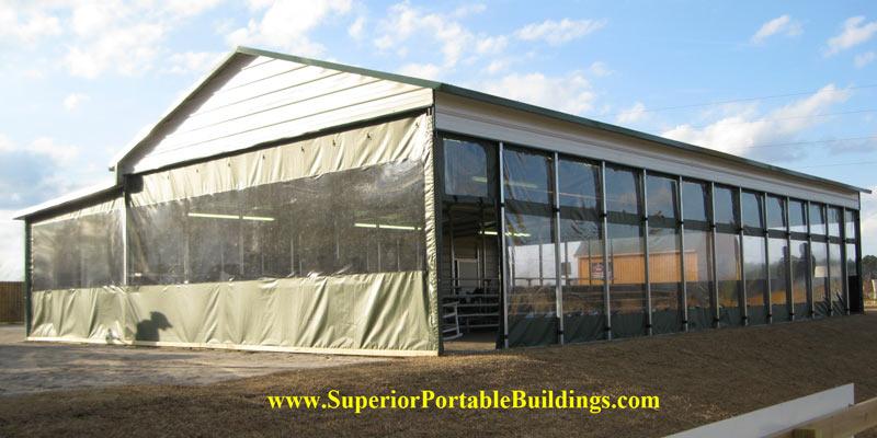 Fabric Carports And Garages : Fabric carport enclosures