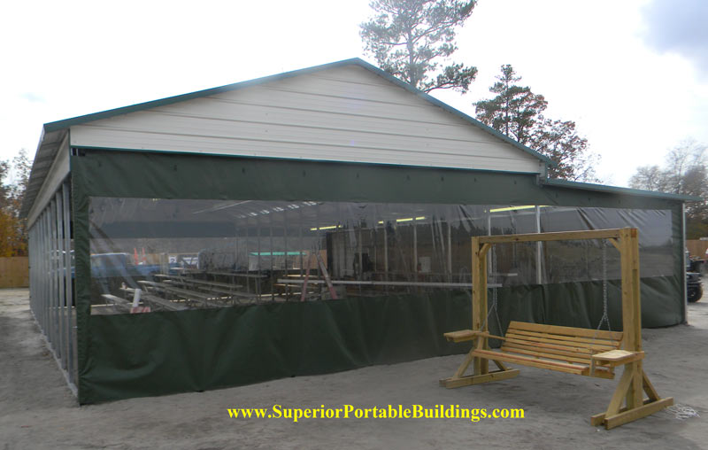 Carports With Cloth Roof : Fabric carports related keywords long